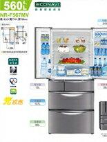 Panasonic國際牌 旗艦變頻六門冰箱NR-F567MV