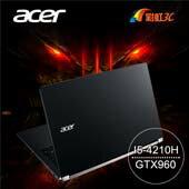 Acer VN7-591G-52H9 15.6吋 FHD電競筆電
