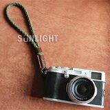 真皮棉繩編織手腕帶-數位相機,單眼相機,拍立得,攝影機,鏡頭