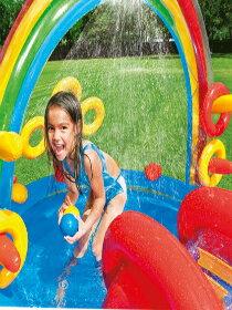 8字溜滑梯戲水池-電玩,遊戲,遊戲主機,玩具,模型公仔