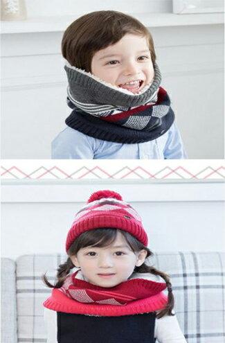 針織兒童毛線帽+加絨圍脖-嬰兒,幼兒,孕婦,童裝,孕婦裝