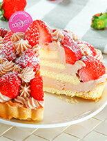 【季節限定】女孩們無法抵抗的❤甜心草莓塔❤