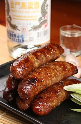 金門高粱 飛魚卵香腸(三包免運)-美食甜點,蛋糕甜點,伴手禮,團購美食,網購美食