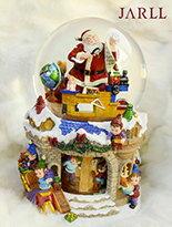 聖誕夢幻村景水晶球