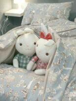 舒適磨毛布床包組