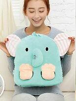 特價$399 小飛象抱枕電暖