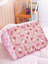 台灣製Hello Kitty.小花日記萬用枕