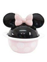 日本直送 迪士尼 Disney 人氣明星 Minnie 米老鼠 米妮 大頭造型 陶瓷鍋 (小)