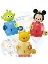 日本直送 Disney 迪士尼 TSUM TSUM 兒童玩具 趣味遊戲 海盜桶 (有3款造型 可做選擇)