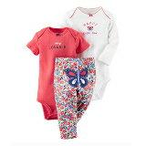 美國 Carter包屁衣三件-嬰兒,幼兒,孕婦,童裝,孕婦裝
