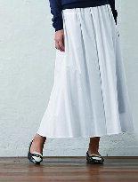 棉質長版輕盈喇叭裙-嬰兒,幼兒,孕婦,童裝,孕婦裝