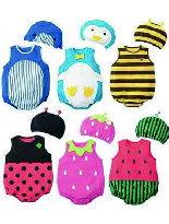 可愛動物水果圖連身衣-嬰兒,幼兒,孕婦,童裝,孕婦裝