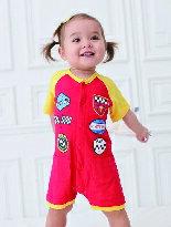 賽車手短袖連身衣-嬰兒,幼兒,孕婦,童裝,孕婦裝