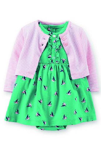 美國 Carter 's 春夏外套洋裝組-嬰兒,幼兒,孕婦,童裝,孕婦裝