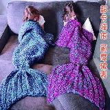 美人魚尾巴懶人針織毯-嬰兒,幼兒,孕婦,童裝,孕婦裝