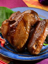 【老發財車黑糖滷味】雞翅/ 小Q蛋/ 滷雞爪/ 黑胡椒毛豆