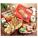 小林煎餅禮盒(紅鐵盒)--美食甜點,蛋糕甜點,伴手禮,團購美食,網購美食