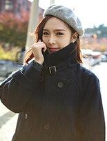 【Comico Korea】正韓翻領繫帶雙排釦毛呢大衣