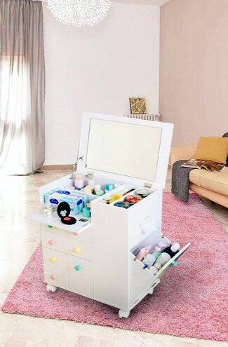 日系公主化妝車-家具,燈具,裝潢,沙發,居家