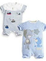 夏款短袖包屁衣-嬰兒,幼兒,孕婦,童裝,孕婦裝