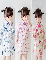 女童復古風旗袍-嬰兒,幼兒,孕婦,童裝,孕婦裝