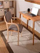 曲木椅+原木色書桌組-女裝,內衣,睡衣,女鞋,洋裝