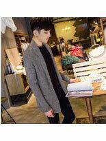 韓式風格中長款針織外-潮流男裝,潮牌,外套,牛仔褲,運動鞋