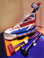 英國國旗鞋筆袋-女裝,內衣,睡衣,女鞋,洋裝