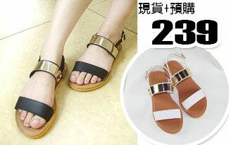 韓版時尚平底涼鞋-女裝,內衣,睡衣,女鞋,洋裝