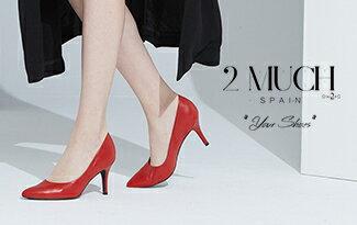 棉羊頭包跟款高跟鞋-紅色-女裝,內衣,睡衣,女鞋,洋裝