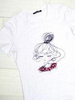 大頭女孩棉T-女裝,內衣,睡衣,女鞋,洋裝