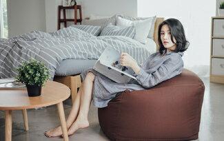 懶人沙發 / 懶骨頭 - [ 阿~不想出門 -九色任選 ] ;自然無印;簡約設計;翔仔居家-女裝,內衣,睡衣,女鞋,洋裝
