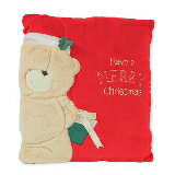 FF 絨毛 紅色聖誕抱枕-家具,燈具,裝潢,沙發,居家
