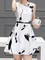 時尚修身顯瘦高腰連身-女裝,內衣,睡衣,女鞋,洋裝