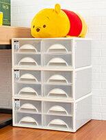 可自由堆疊抽屜收納櫃-家具,燈具,裝潢,沙發,居家