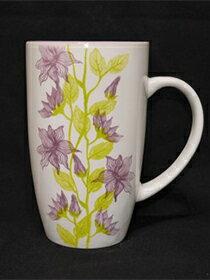 馬克杯紫色花草紋-家具,燈具,裝潢,沙發,居家