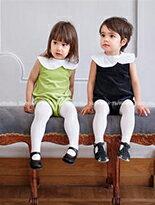 娃娃領短袖兔裝連身裝-嬰兒,幼兒,孕婦,童裝,孕婦裝
