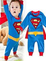 超人造型連身裝 披風-嬰兒,幼兒,孕婦,童裝,孕婦裝