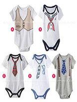 假領帶造型兔裝-嬰兒,幼兒,孕婦,童裝,孕婦裝