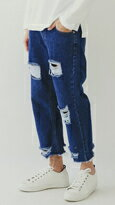 正韓 寬版8分牛仔褲-女裝,內衣,睡衣,女鞋,洋裝