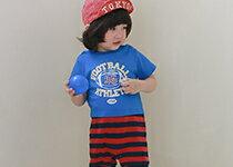 假兩件美式運動風連身衣-嬰兒,幼兒,孕婦,童裝,孕婦裝