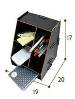 木質簡約桌面收納盒-女裝,內衣,睡衣,女鞋,洋裝