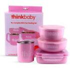 網路購物-美國 ThinkBaby不鏽鋼兒童餐具組