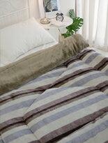 雙色設計法蘭絨暖暖被-家具,燈具,裝潢,沙發,居家