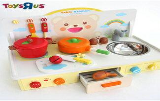 微笑熊桌上型廚房組-電玩,遊戲,遊戲主機,玩具,玩具