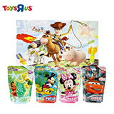 迪士尼卡通袋裝拼圖-電玩,遊戲,遊戲主機,玩具,玩具