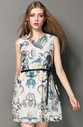 歐美大牌時尚印花洋裝-女裝,內衣,睡衣,女鞋,洋裝