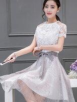 韓系A字裙洋裝-女裝,內衣,睡衣,女鞋,洋裝