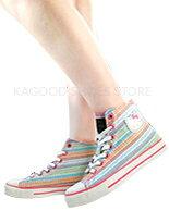 【KAGOOD】凱蒂貓民俗風帆布鞋