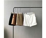 韓系 女裝 高腰顯瘦闊腿牛仔短褲 / 樂天時尚館。預購